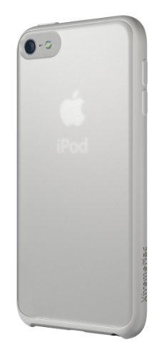 XtremeMac Microshield Accent Case for iPod Touch 5th gen. Clear/White, IPT-MAN-03 (Cases Clear Microshield)