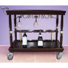 Bon Chef 50071 Wine Serving Cart, 39