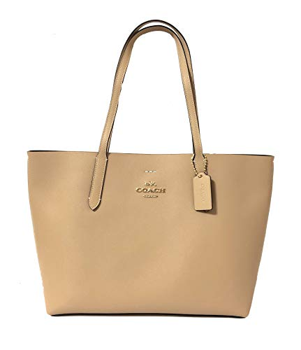 Coach F31535 Leather Avenue Tote (IM/Beechwood/Black)