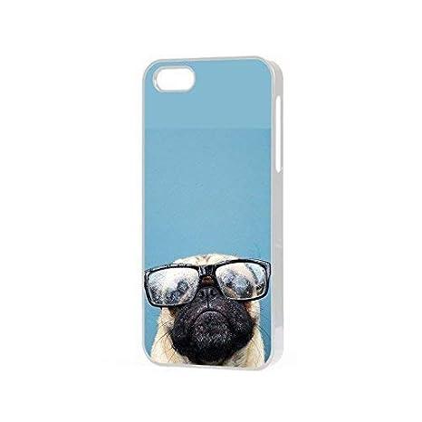 Carlino Selfie Blu Sfondo Cane Carina Puglife Custodia Per Telefono