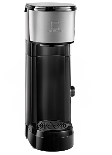 Coffee Maker Usage : Chefman Coffee Maker K-Cup VersaBrew Brewer - FREE FILTER INCLUDED For Use With Coffee Grounds ...