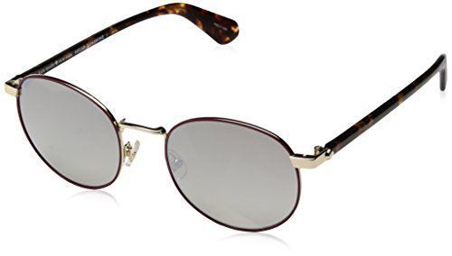 Kate Spade New York Womens Adelais/S Violet Havana/Brown Gradient Mirror One Size One ()