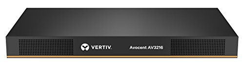 - Vertiv Avocent 16-Port Rackmount KVM Over IP Switch with CAC & Local or Remote Access (AV3216-001)