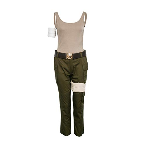 Partyever Womens 2018 Lara Costume Outfit Deluxe Halloween