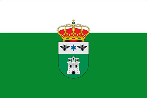 magFlags Large Flag Arroba de los Montes, Ciudad Real, Spain | landscape flag | 1.35m² | 14.5sqft | 90x150cm | 3x5ft - 100% Made in Germany - long lasting outdoor flag from magFlags