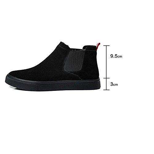 corrente in calda scamosciate stivali GTVERNH occasionale Single mens scarpe due uomini martin scarpe invernali shoes cashmere inverno stivali con l'inverno xRRzg8qF