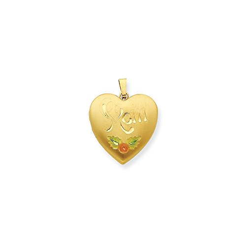Bonyak Jewelry Gold Plated Sterling Silver 24mm Satin, Enameled, D/C Mom -