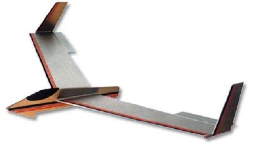 Star Drifter: West Wings Tailess Glider Balsa Wood Flying Model Plane WW202