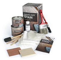 Therma Tru Finishing Kit Walnut Stain Kit for Fiberglass Doors