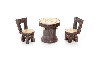 Woodlook Resin Garden Chairs Inches product image