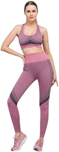 レディース ヨガウェア スポーツウェア 伸縮性 吸汗速乾 ストラップチェストパッドベスト ヨガパンツ 衣装 ジョギング ジム ランニング ヨガ