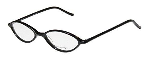 Vera Wang V18 Womens/Ladies Designer Full-rim Eyeglasses/Eyeglass Frame (49-17-136, Black)