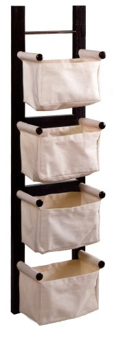 bathroom magazine rack wood - 1
