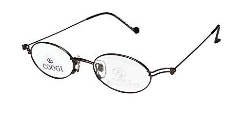 Paolo Gucci Coogi 7406r Womens/Ladies Oval Full-rim Eyeglasses/Eyeglass Frame (48-20-140, Matte - Gucci Goggle