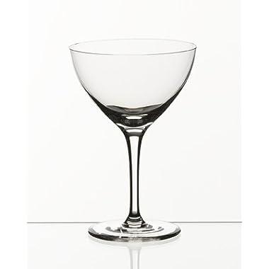 Set of 6 Martini / Champagne Classic Cocktail Glasses
