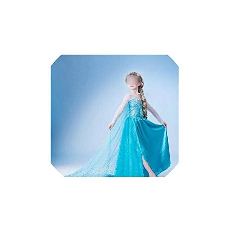 Girl Costume Snow White for Girls Prom Princess Instant Party Clothes Fancy Teenage,Style 9,4T -