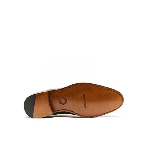 British Passport BP7144 - Zapatos de Cordones de Piel Para Hombre Marrón Marrón