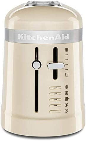 Kitchenaid 1-Long Slot Toaster Empire RED 5KMT3115BER Almond Cream
