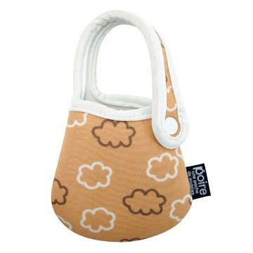 Poire Universal Cell Phone Pouch - Brown Clouds