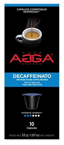 Café Agga Coffee Nespresso ORIGINALINE Compatible Coffee Capsules (60 capsules) DECAFFEINATO ESPRESSO Review