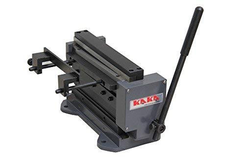 KAKA 8''MINI 8-Inch Manual Mini Shear and Brake Combination, Miniature Compact Manual Sheet Metal Brake and Shear Combination by KAKA INDUSTRIAL