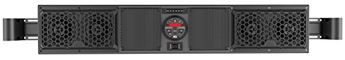 Yamaha Viking Bluetooth Overhead UTV Audio System fits cages with Inside Measurement 49.25'' to 56.0'' BY MTX Audio MUDSYS46 by MTX Audio (Image #1)