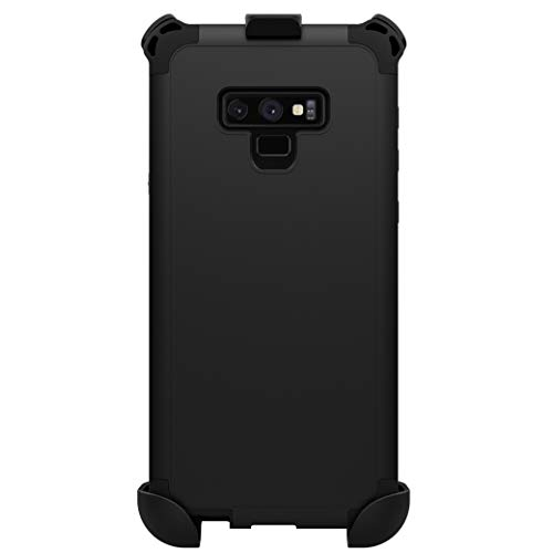 Seidio Dilex Case and Holster Combo for Samsung Galaxy Note 9 (Black/Black) ()