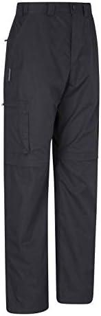 Mountain Warehouse Pantalones Desmontables Trek para Hombre