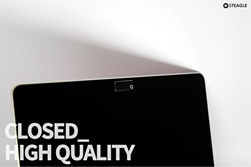 STEAGLE ORIGINAL Three Pack (Black x 3) Premium Laptop Webcam Cover for your privacy – Macbook – Laptop - PC – 0.03 inch ultimate thinness by STEAGLE (Image #3)