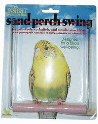 (JW Pet Insight Sand Perch Swing For Birds Small -- 1 Toy)