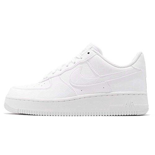 NIKE Women's WMNS Air Force 1 '07 Ess Gymnastics Shoes White 100, 6 UK