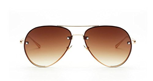 GAMT Aviator Sunglasses for Women Metal Frame Eyeglasses - Big For Eyeglasses Heads