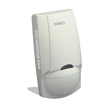 DSC LC103 Detector de doble tecnología con antimask y Pet ...
