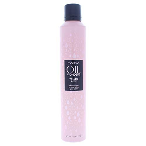 Matrix Oil Wonders Volume Rose Finishing Hairspray for Fine Hair Strong Hold, 10.2 Oz.