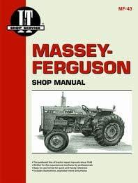 IT Shop Massey Ferguson 255 Tractor Service Manual