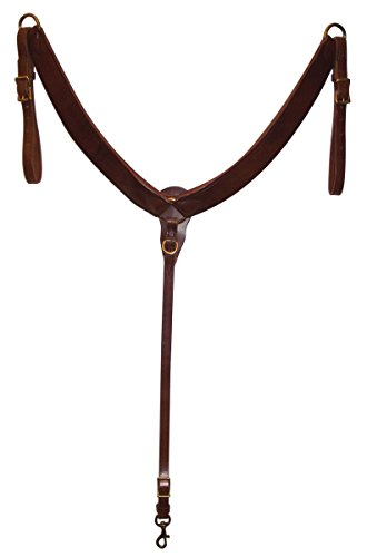 Hamilton Equine Breast Collar, 1-1/2-Inch, Brown