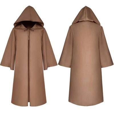 Cosplay Capa Medieval Vestido de Halloween con Capucha ...