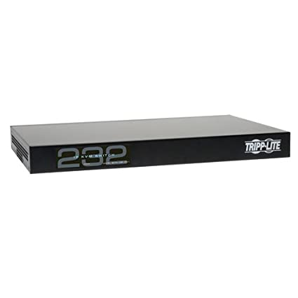 Amazon com: TRIPP LITE 32-Port Cat5 KVM Over IP Switch 1