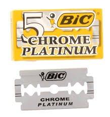 (Bic Chrome Platinum Double Edge Razor Blades - 10 Ct)