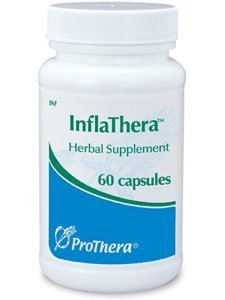 Prothera Inflathera Curcumin Herbal Supplements, 60 Count