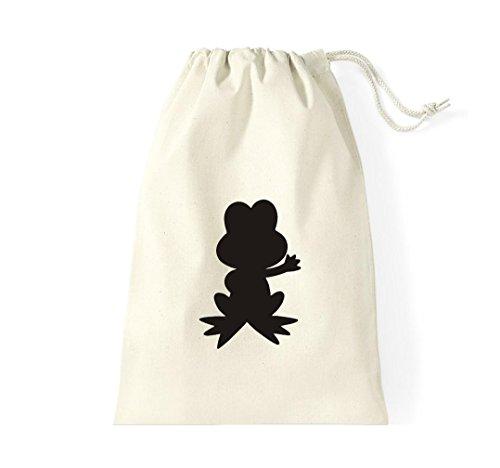 Krokodil - Bolso de tela de algodón para mujer - naturaleza