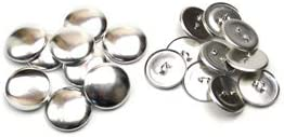 22mm くるみボタン 足付タイプ セット 10個 3パッケージセット ※くるみボタン打ち具は別売