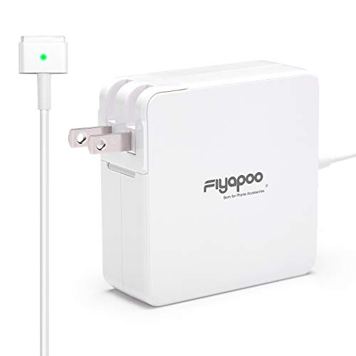 Mac Book Pro Charger,Fiyapoo 60W Power Magnetic T-Tip AC Replacement Adapter Wall Charger for Laptop 13-inch After Late ()