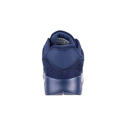 Elara Marino Material de bajo Tobillo Mujer Sintético Azul rfwRxrqO6