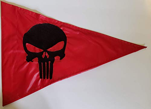 Devil Woman Flags Punisher Replacement Safety Flag for ATV UTV RZR Recumbent Trike Bicycle