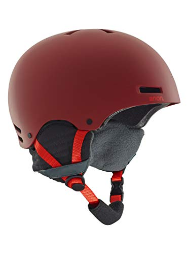 - Anon 13276104600S Raider Helmet, Red, Small