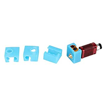 Redrex 4 Piezas Cubierta de Silicona para Impresora 3D Hotend ...