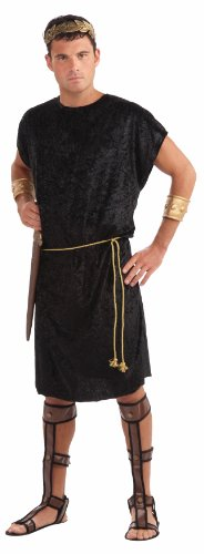 [Forum Men's Black Tunic Costume] (Medieval Mens Costumes)