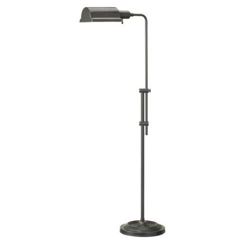 Dainolite DM450F-OBB Adjustable Floor Lamp, Oil Brushed Bronze