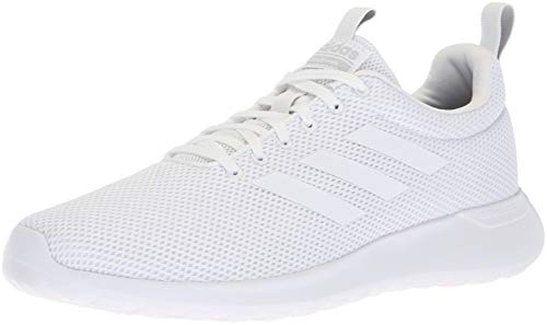 - adidas Men's LITE Racer CLN Running Shoe, White/Grey, 11.5 M US